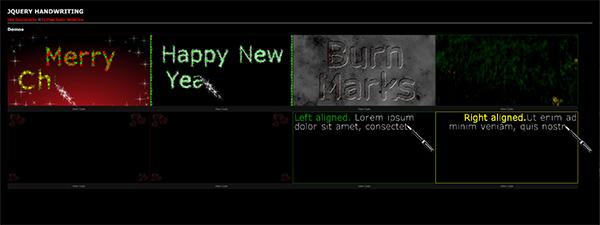 90+ des meilleurs plugins jQuery pour animer vos textes