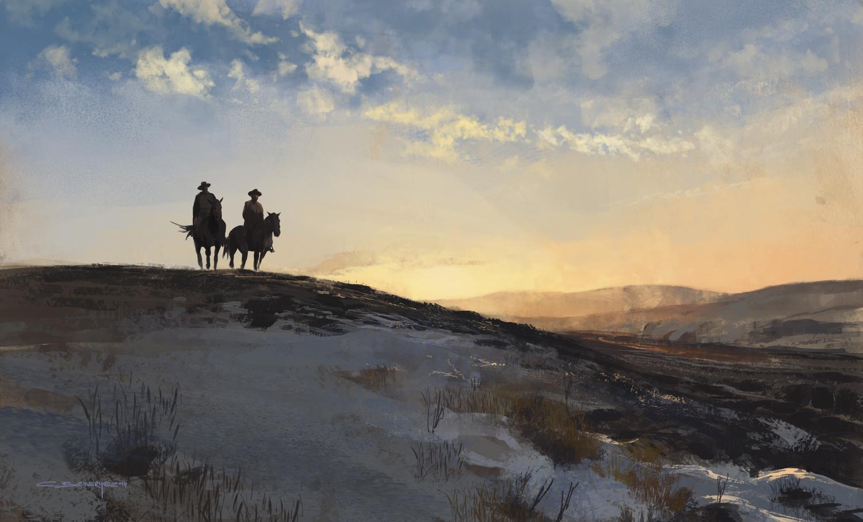 Les concept arts atmosphériques de Christian Bravery