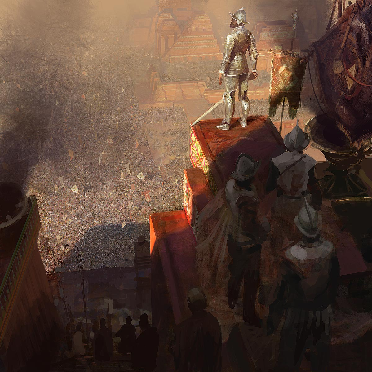 The Pros Of Cons Of Painting Vs Wallpapering: Découvrez Craig Mullins, Concept Artist Et Illustrateur De