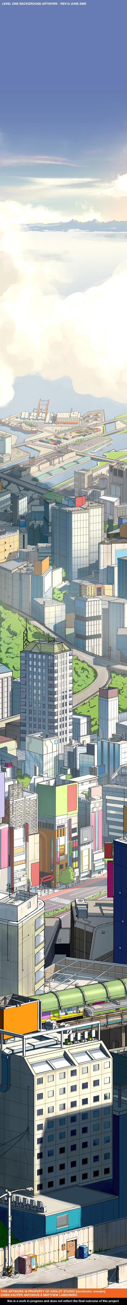 Le manga art de Matthew M. Laskowski aka Fox-Orian