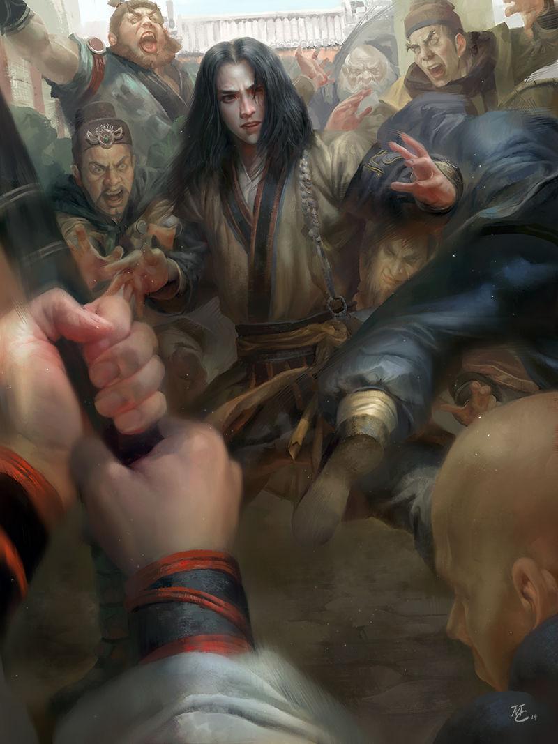 Les concept arts et illustrations de Michael Chang