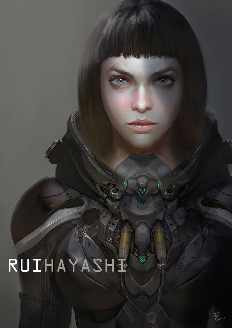 Les concept arts et illustrations de Michael Chang