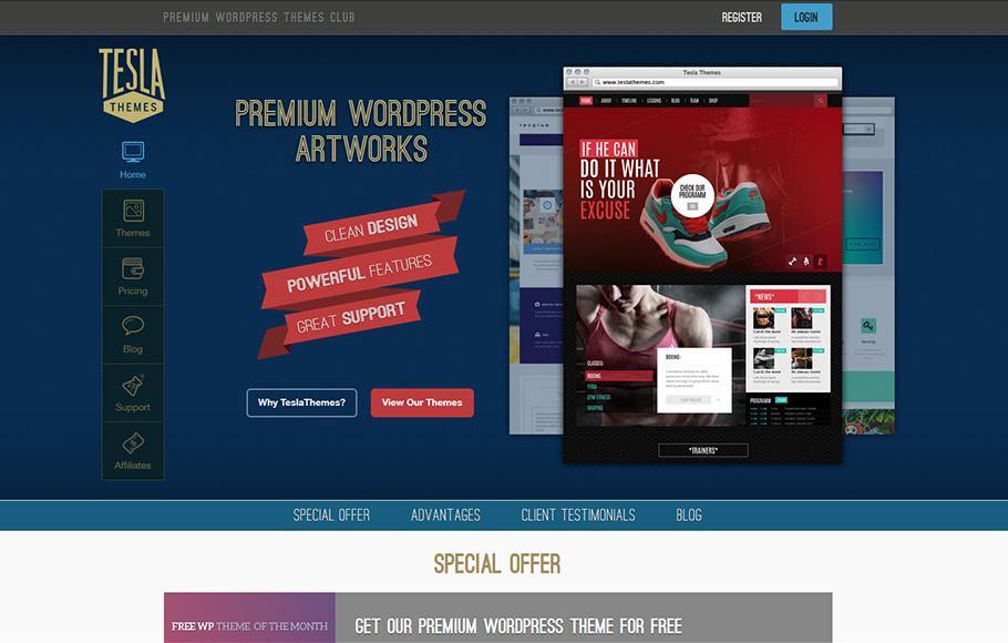 [Concours] : 3 Abonnements aux 27 thèmes WordPress premium de chez Tesla Themes à gagner