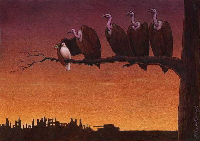 40 dessins satyriques de Paweł Kuczyński qui vous feront réfléchir