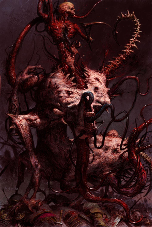 Le légendaire concept artist Adrian Smith