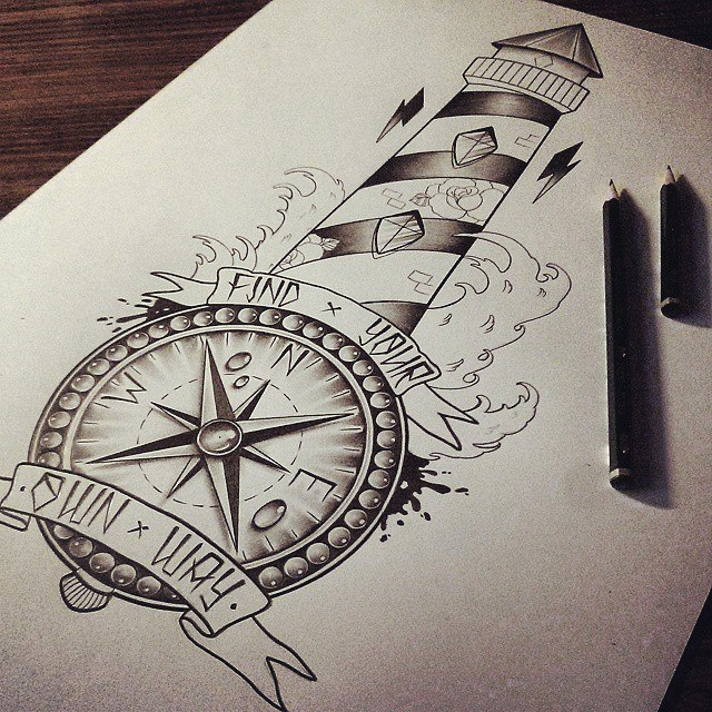 Les illustrations de tatouages d'Edward Miller