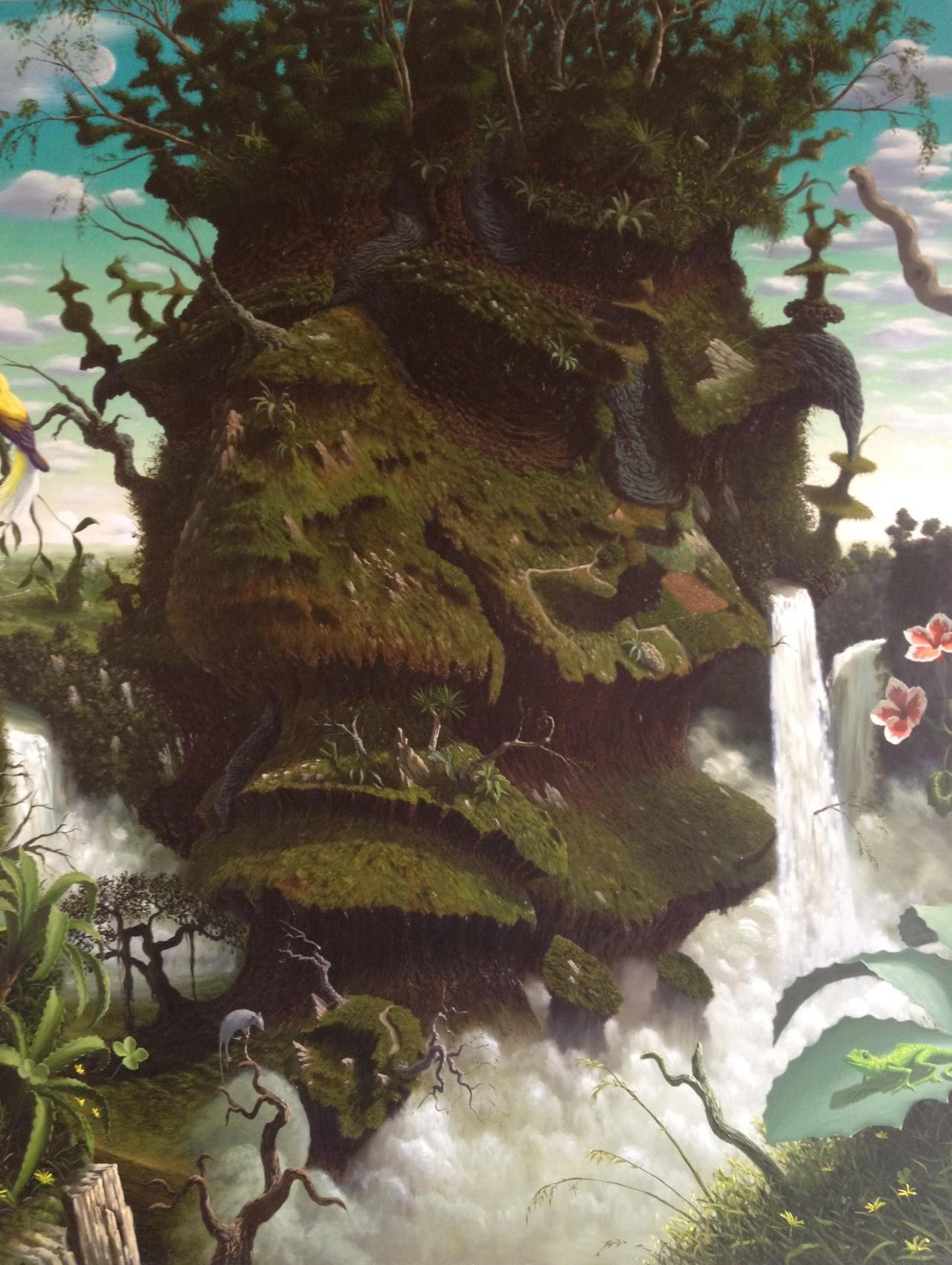 Les peintures à l'huile surréalistes de Fulvio Di Piazza