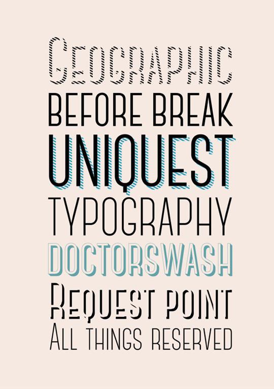 nouvelles typographies gratuites à télécharger pour vos futurs designs