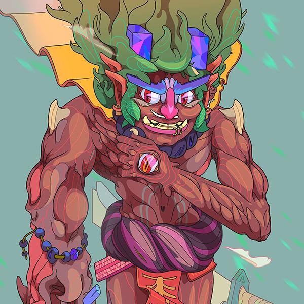 Les personnages vectoriels déjantés de Andrés Maquinita