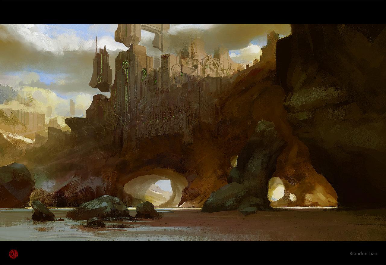 La science-fiction revue par le concept artist Brandon Liao