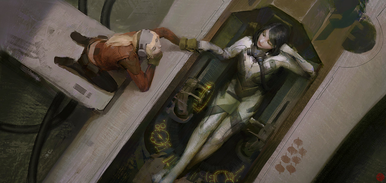 La science-fiction revue par le concept artist Brandon Liao
