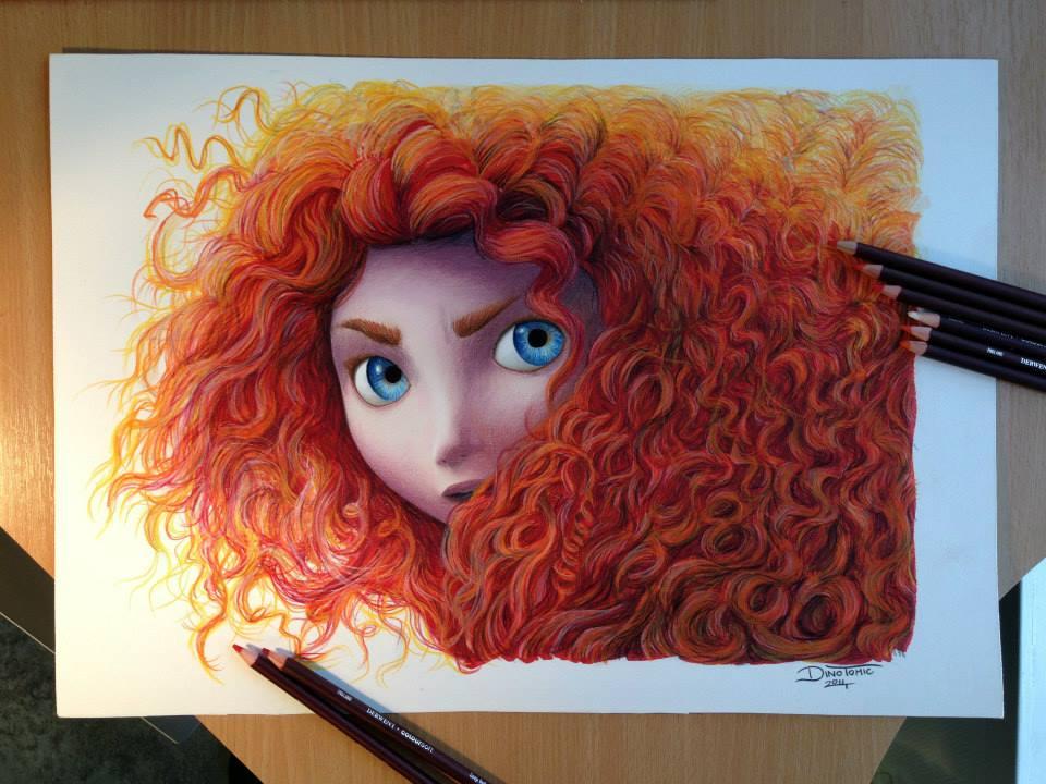 Les dessins au crayons réalistes de Dino Tomic
