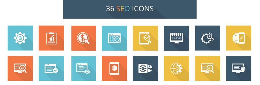36 icônes