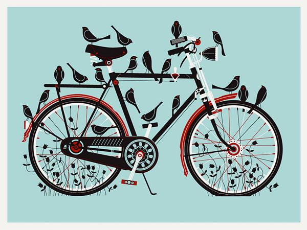 10 conseils de compositions pour vos prochaines illustrations : Contraste