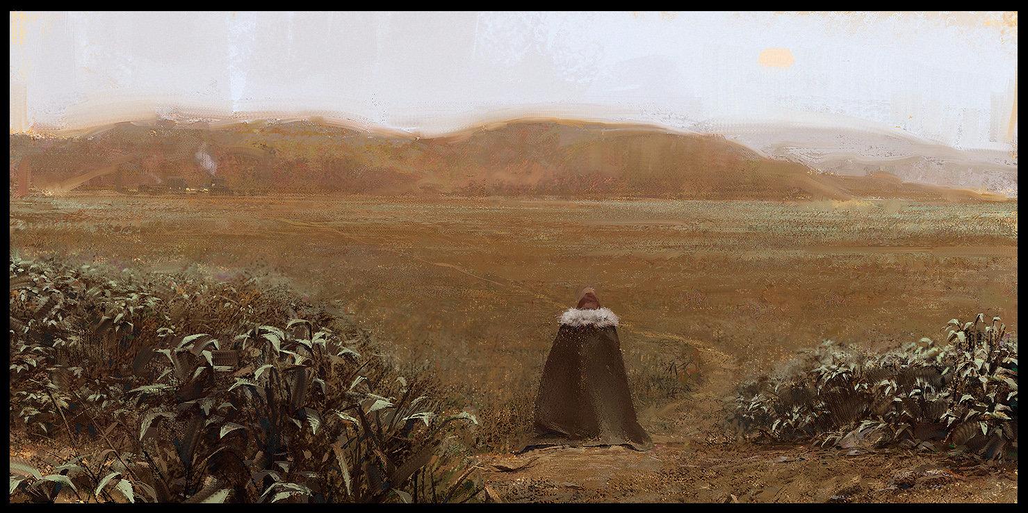 Les digital paintings du concept artist Ivan Khomenko