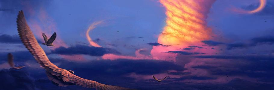 Nouvelle création : «Internal chaos», digital painting de Spartan