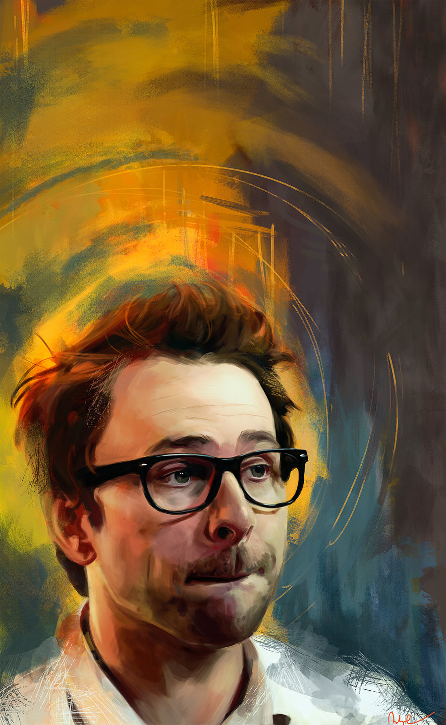 Les personnages de films et séries en digital painting de Namecchan
