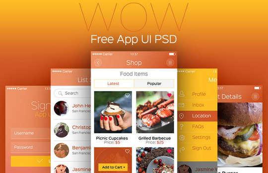 nouveaux PSD de qualité gratuits à télécharger