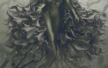 Nouvelle création et PSD offert : «Dark witch», digital painting de Spartan