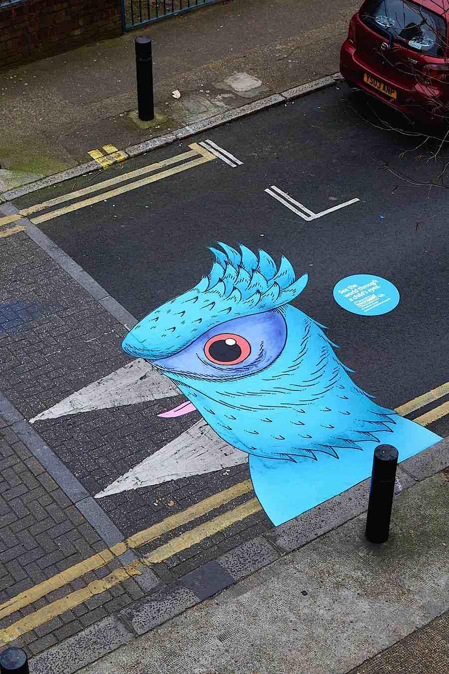 Du Street art pour découvrir le monde avec des yeux d'enfants (2)