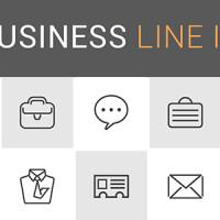 35 icônes de business minimalistes exclusives pour vos designs