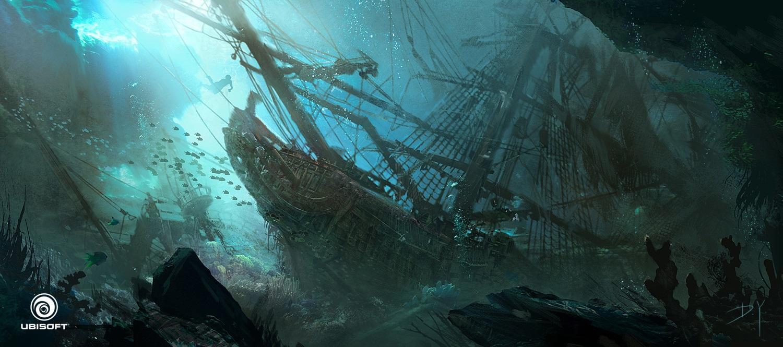 Les superbes concept arts d'Assassin's Creed et de Far Cry de Donglu Yu