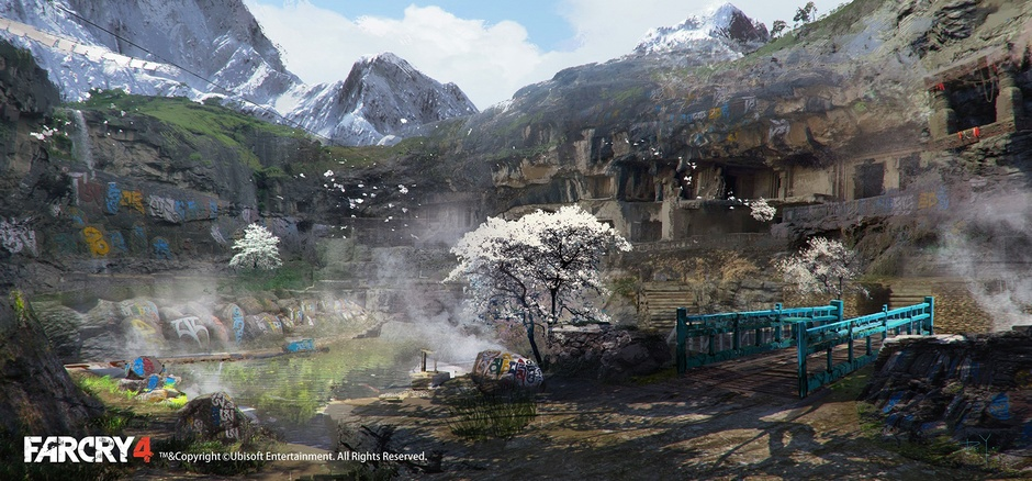 Les superbes concept arts d'Assassin's Creed et de Far Cry de Donglu Yu