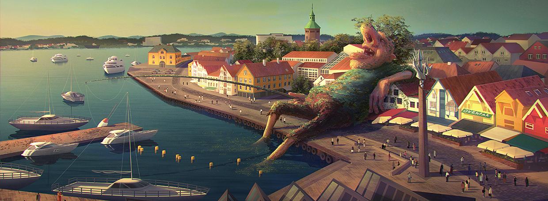 Les magnifiques illustrations de Gediminas Pranckevicius