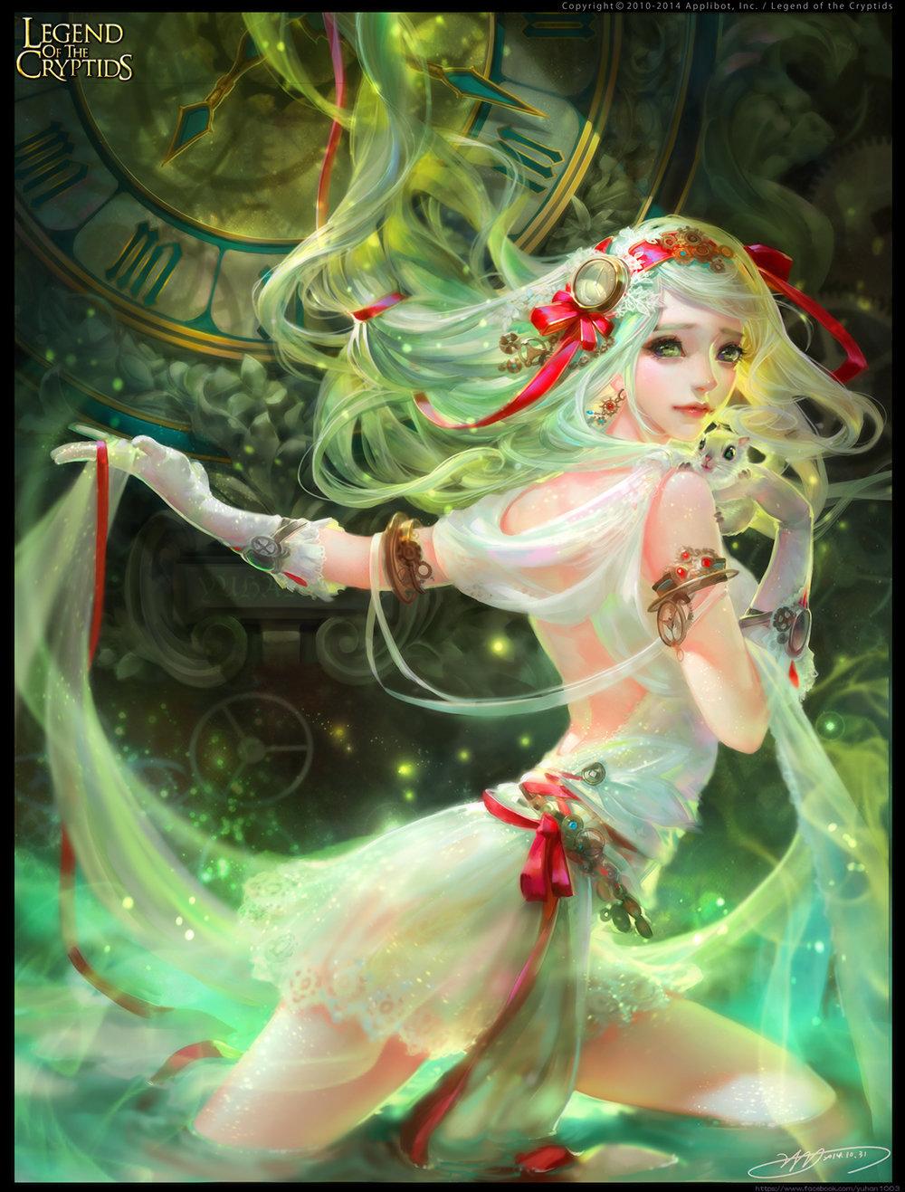 Les pin-ups sexy en digital painting de Yu-Han Chen