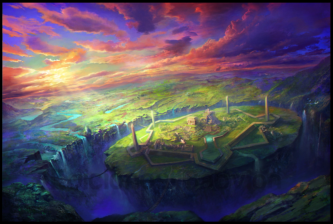 Les superbes digital paintings colorés du maître Marta Nael