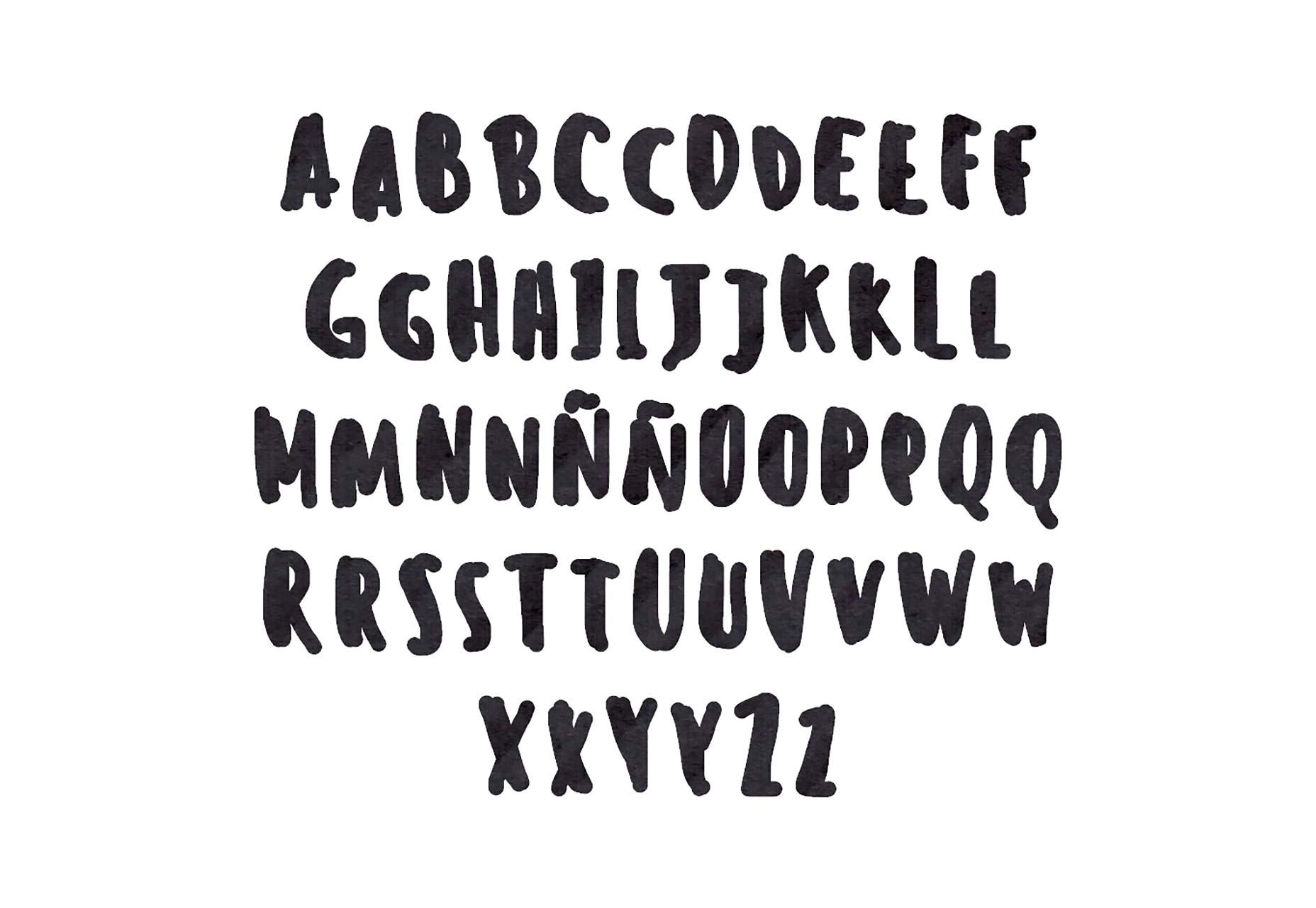 60 typographies d'exception gratuites pour cet été 2015