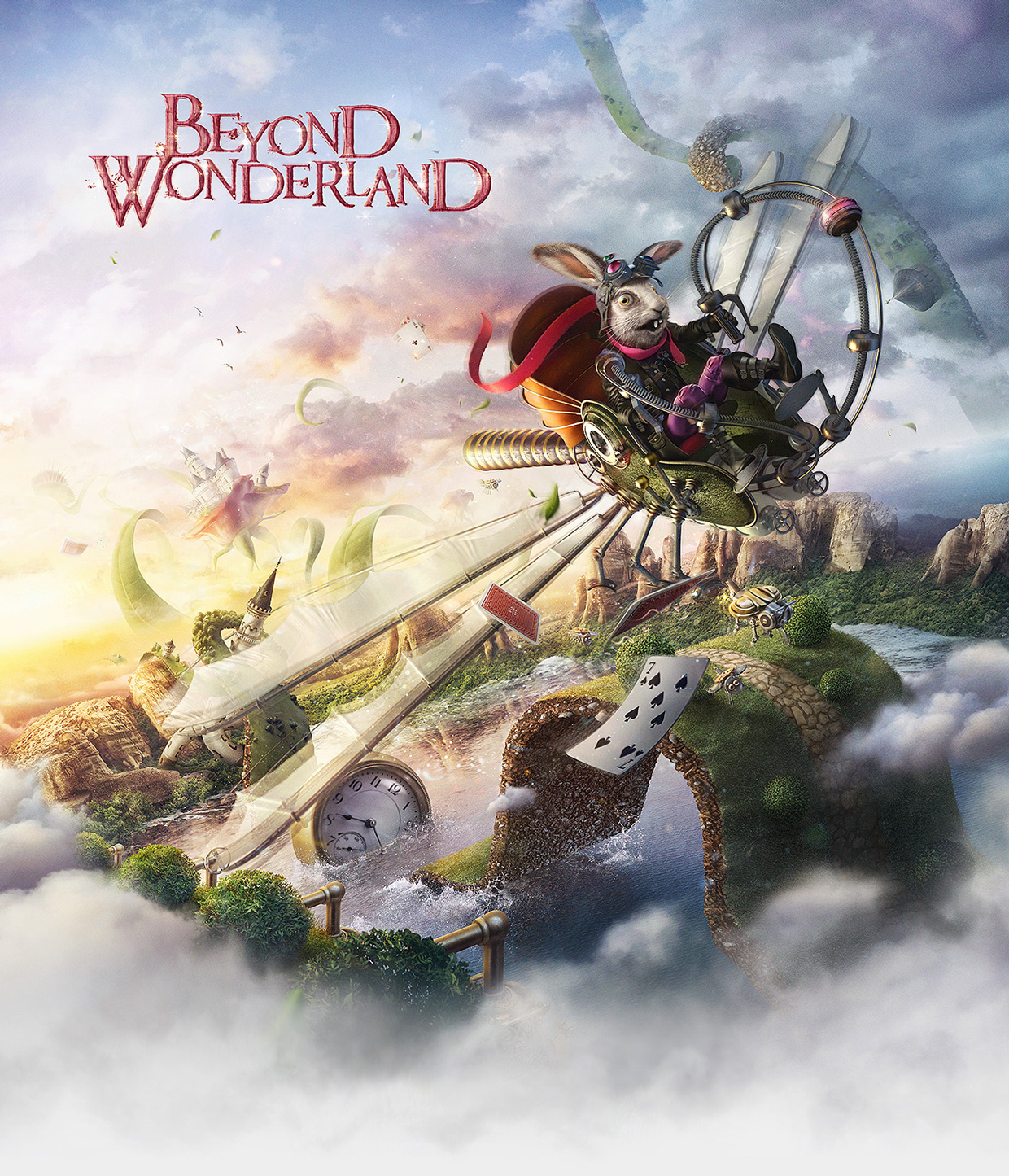 """Beyond Wonderland"", le making-of de photomanipulations de haut vol"