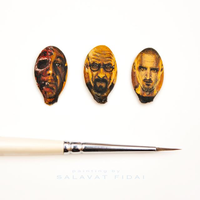 Salavat Fidai revient avec des peintures ridiculeusement minuscules !