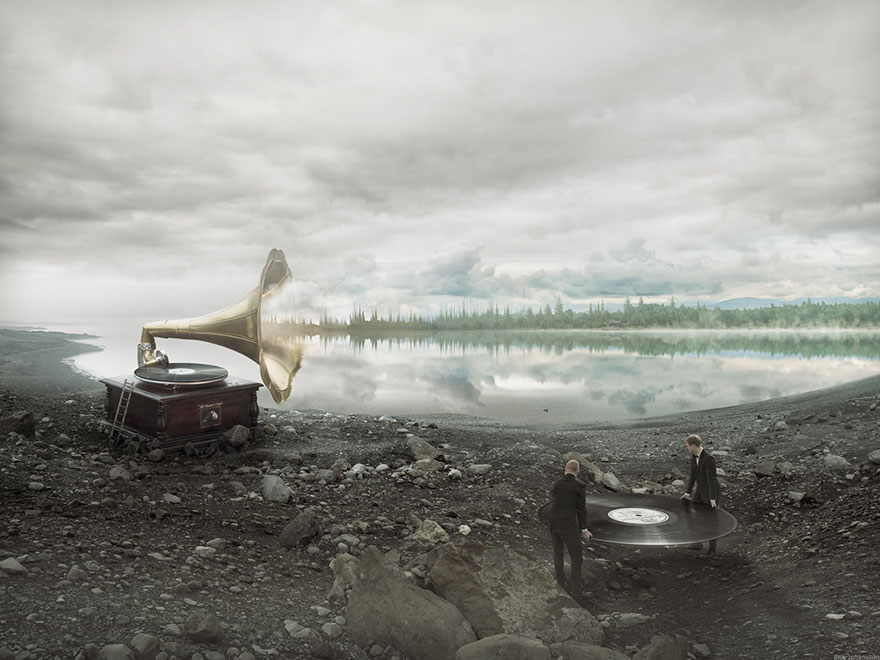Le génie de la photomanipulation Erik Johansson nous montre les coulisses de ses créations