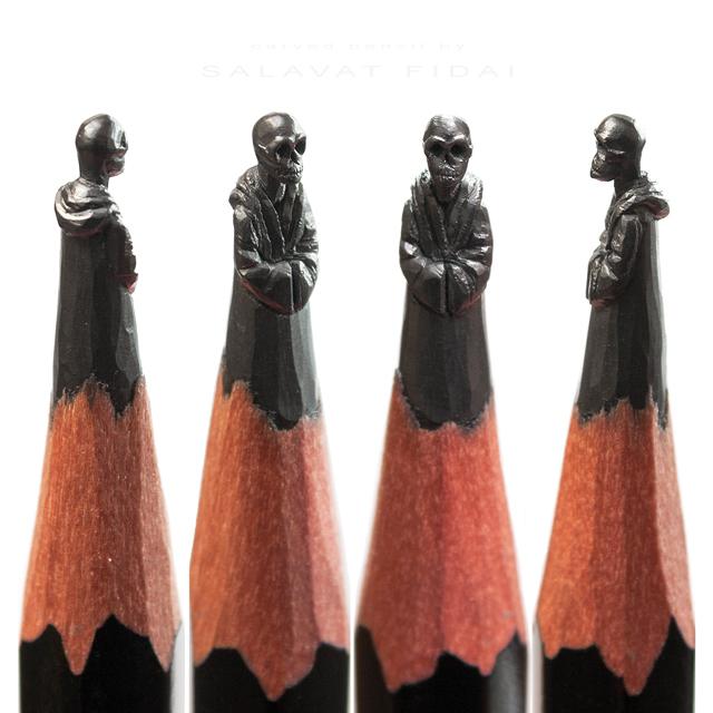 Les sculptures de crayon miniatures incroyables de Salavat Fidai !