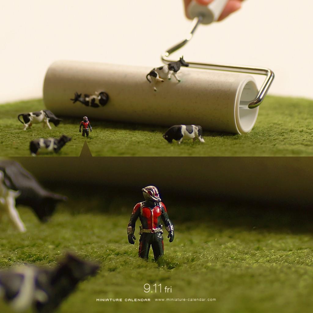 Le monde miniature de Tatsuya Tanaka est simplement adorable