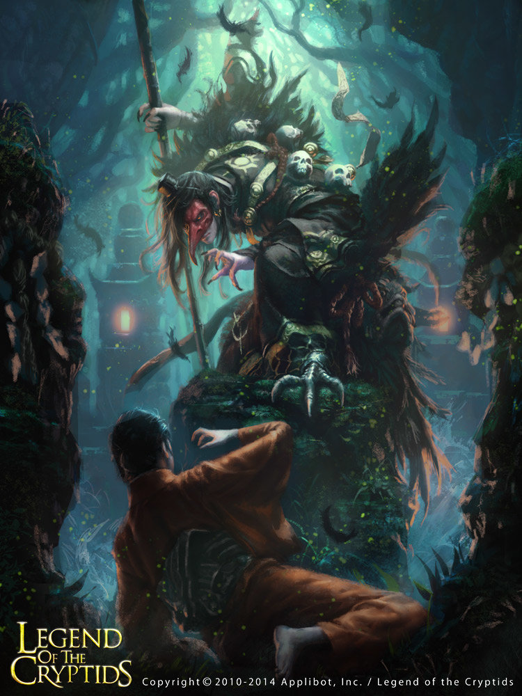Les digital paintings de fantasy de l'artiste Choi Yongjae