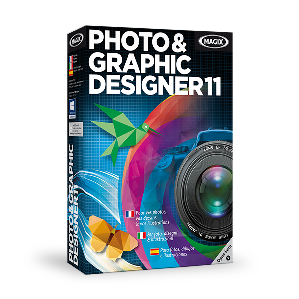Magix Photo & Graphic Designer 11 : une alternative à Photoshop pour un petit budget