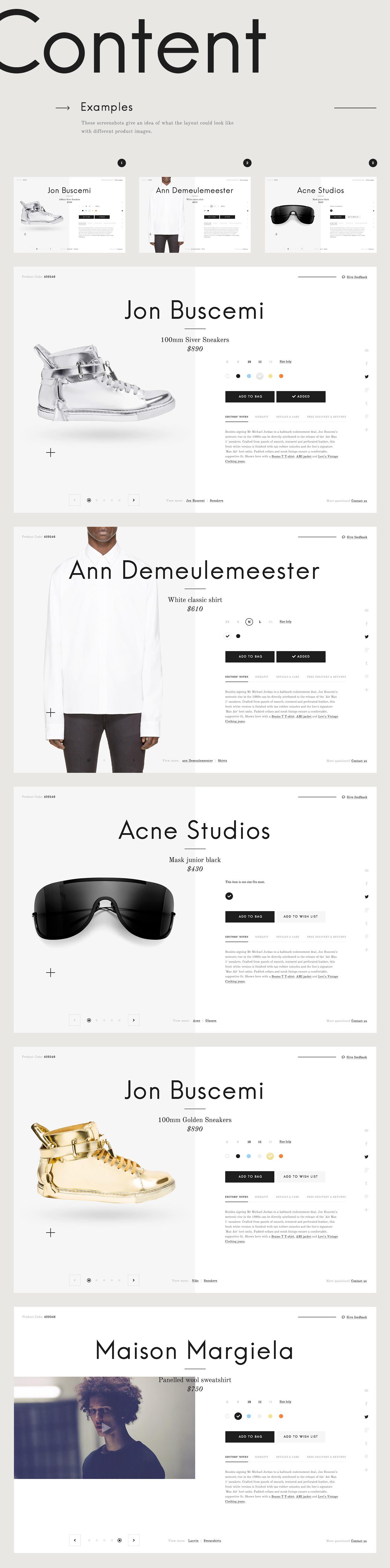 Serge Vasil, talentueux Webdesigner et Designer d'interface #16