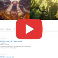 Nouvelle chaîne Youtube dédiée aux speed paintings