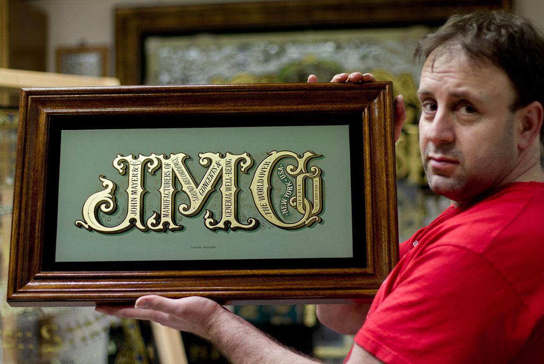David Adrian Smith, maître illustrateur et graveur sur verre