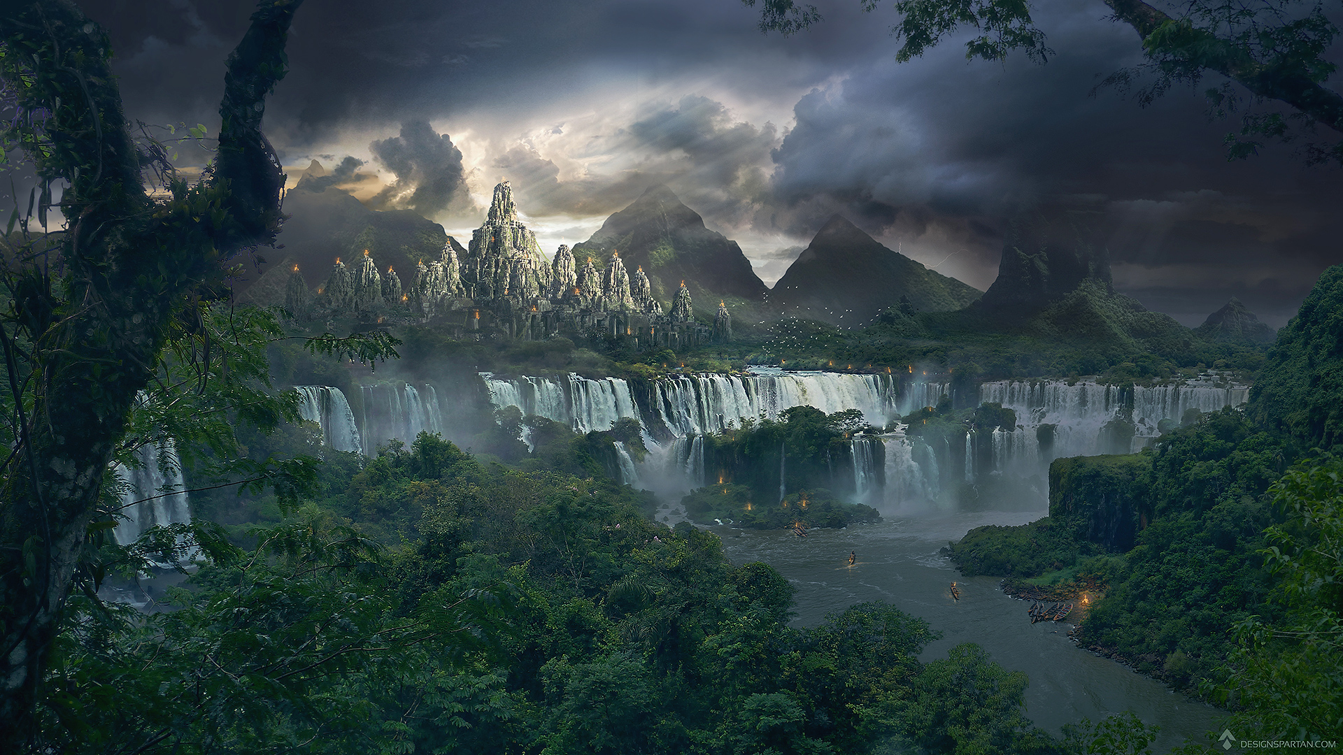 tuto_matte_painting_temple_final_designspartan