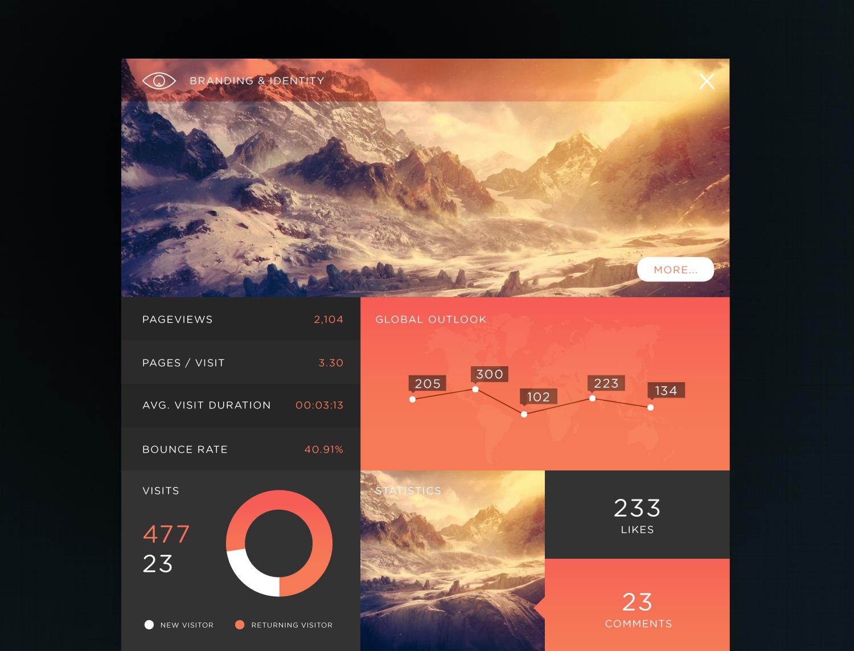 20 designs d'applications web pour vous inspirer