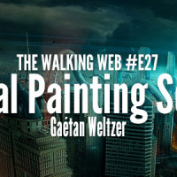 "DigitalPainting.school, invité dans le podcast ""The Walking Web"""