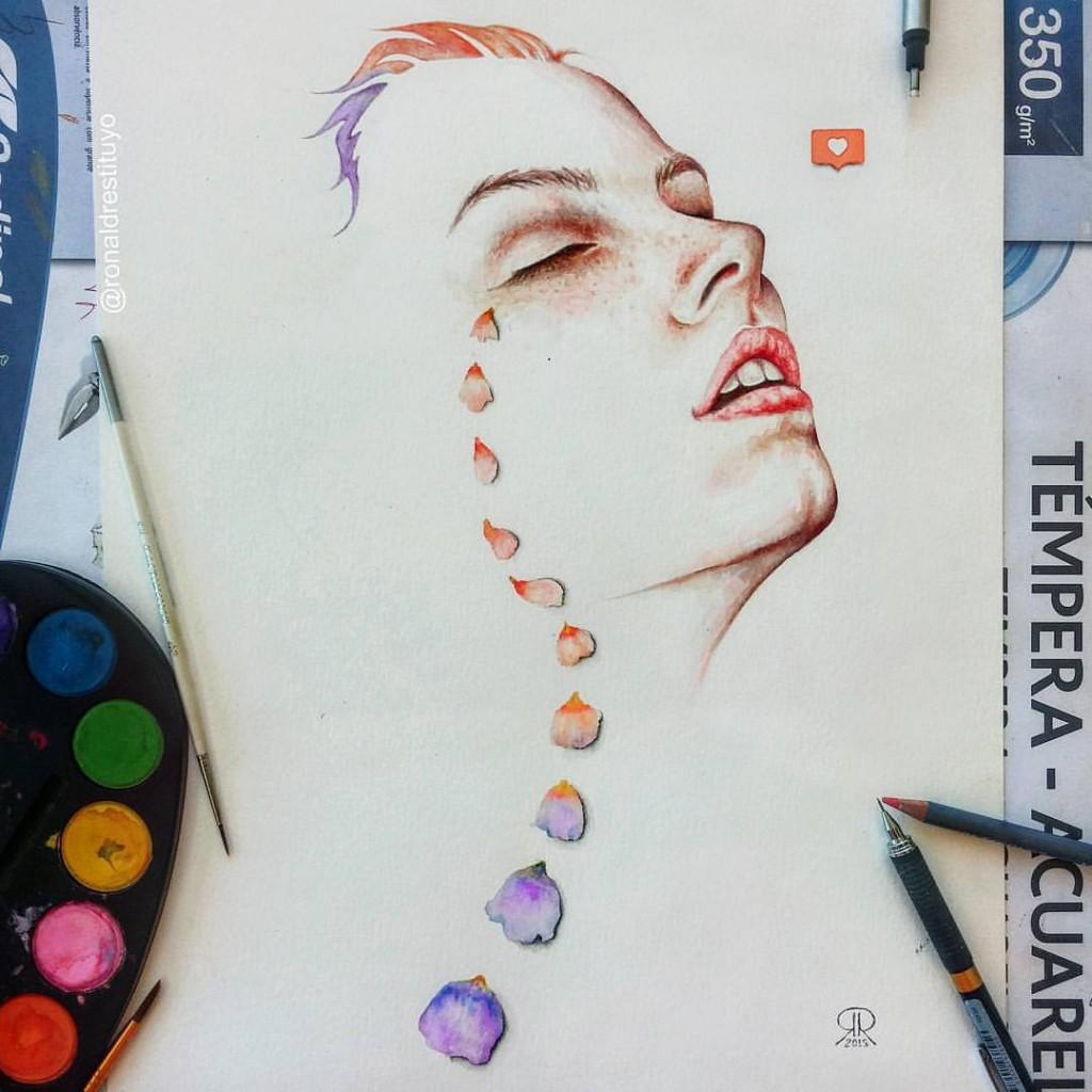 Les créations belles et inspirantes de Ronald Restituyo