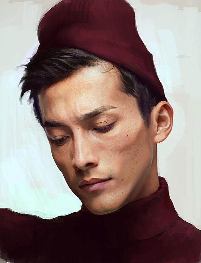 50 Portraits en digital painting à couper le souffle !