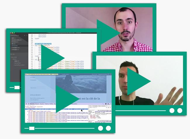 15 heures de vidéo - Apprenez à personnaliser n'importe quel thème WordPress