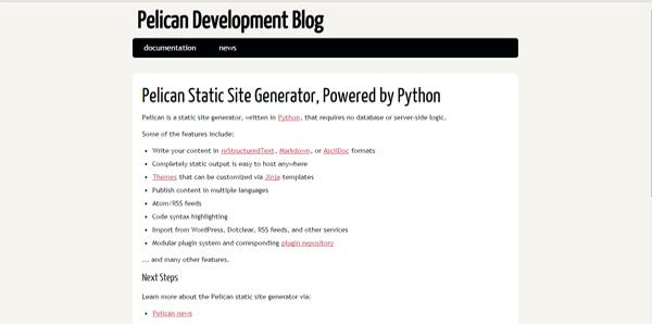 15 des meilleurs générateurs de Sites web statiques