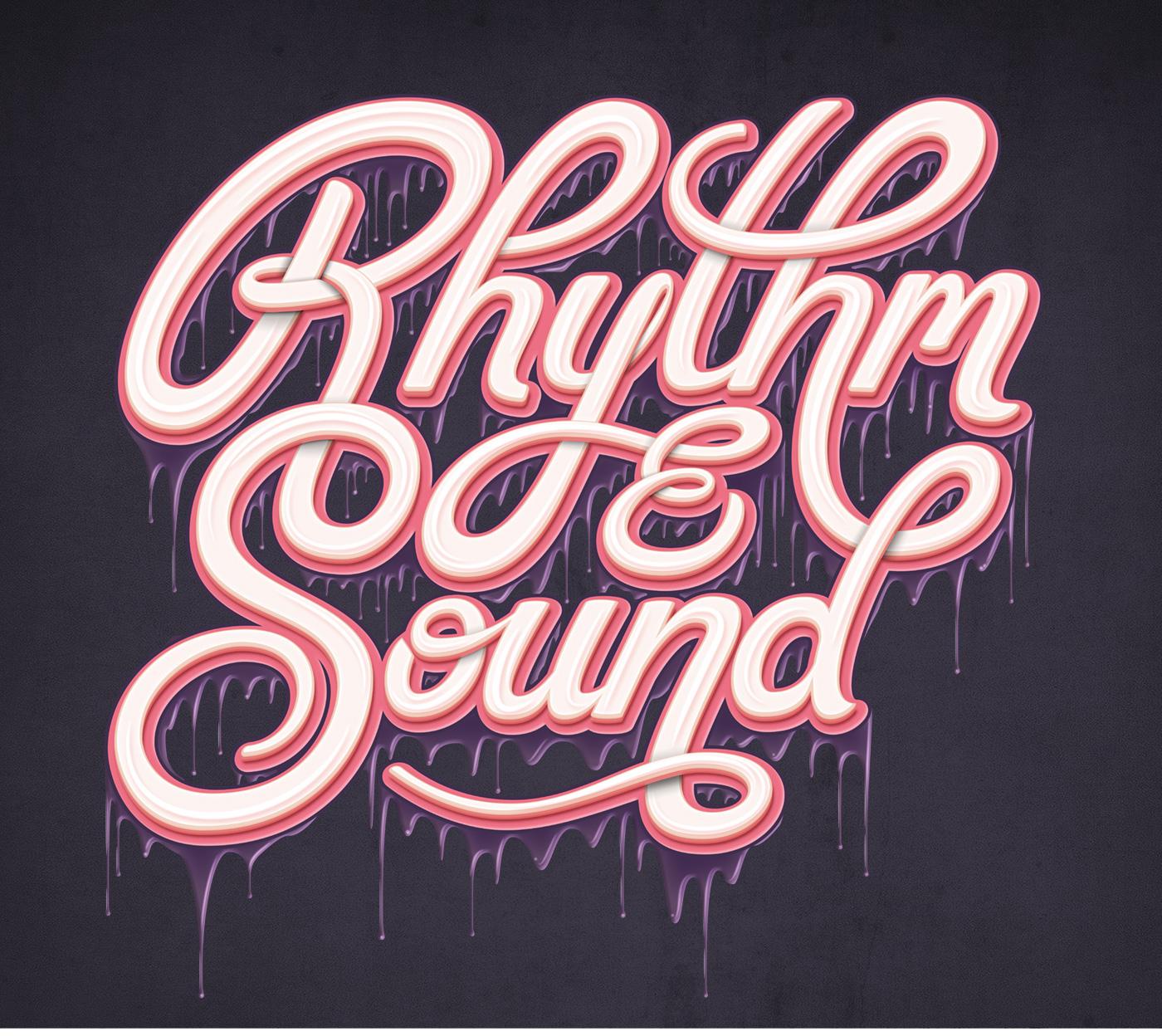 La typographie de Mario De Meyer est un délice pour les yeux !