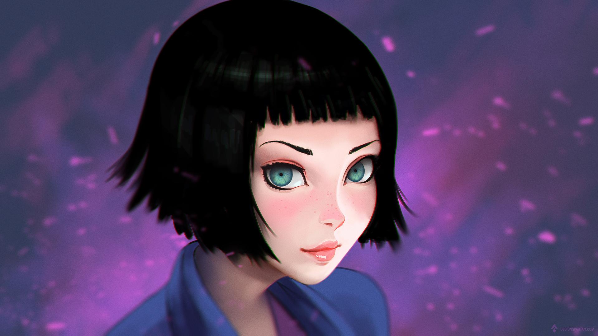 """Tutoriel vidéo de digital painting : Comment peindre un portrait stylisé """"manga"""" semi-réaliste"""